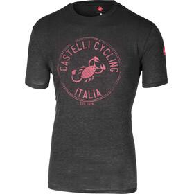 Castelli Armando T-Shirt Men melange grey/pink